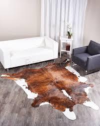 brindle tricolor brazilian cowhide rug 064 38 9 sq ft