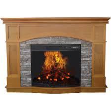 hamilton free standing electric fireplace stoveby e flame usa black com
