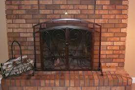 fireplace screens with doors. Impressive Fireplace Screen Doors With Custom Windows Ideas Screens M