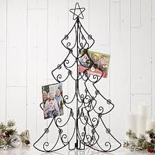 Christmas Card Display Stand Tabletop Christmas Card Display Holder Christmas Tree 1