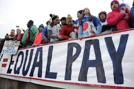 no matter the sport women athletes are always paid less only a game