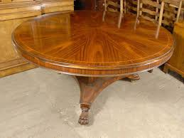 english victorian 5 foot round dining table in rosewood
