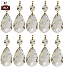 lighting trendy chandelier crystal replacement 13 prism icicle u drop replacements