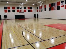 image of nice design your own indoor basketball court