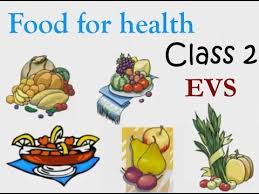Class 2 Evs Online Video Lecture Food For Health