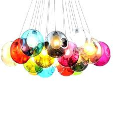 chandeliers multi colored chandelier multi colored chandelier multi colored mini pendant lights blown glass ball