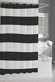black white and gold shower curtain. kassatex hampton stripe luxury fabric shower curtain classic black \u0026 white and gold e