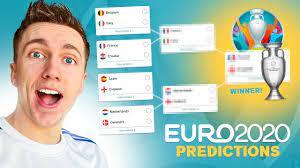 My Euro 2020 Prediction. - YouTube