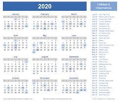 2020 Calendar Prints For Planning Printable Calendar