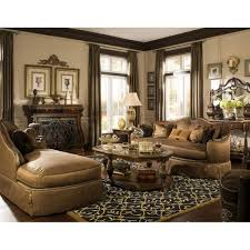Michael Amini Living Room Furniture The Sovereign Living Room Set By Michael Amini 2 Pc D2d