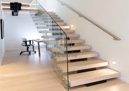 modern stairs design glass railing wood steps staircase wood staircase modern i26 wood
