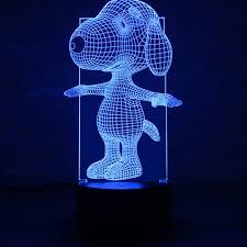 Kopen Goedkoop 3d Visuele Illusie Lamp Transparant Acryl Nachtlampje