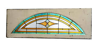 stained glass transom window