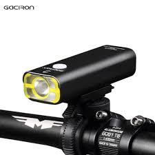 2019 Gaciron Usb Rechargeable Bicycle Light Front Handlebar Cycling