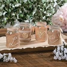 Decorations Using Mason Jars Wedding Ideas Using Burlap bazaraurorita 76