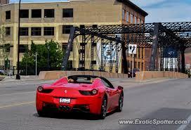 Ferrari 458 Italia Spotted In Minneapolis Minnesota On 07 23 2019