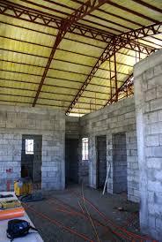 Fiberglass insulation.