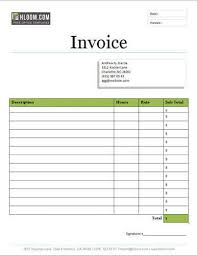 Easy Invoice Maker Awesome 48 Free Service Invoice Templates [Billing In Word And Excel]
