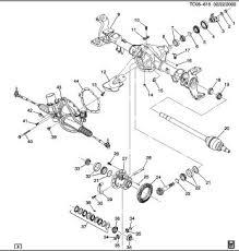 quadrasteer dana 60 axle differences and similarities brian 2002 Gmc Sierra Trailer Wiring Diagram gm part numbers 2002 gmc sierra trailer wiring diagram