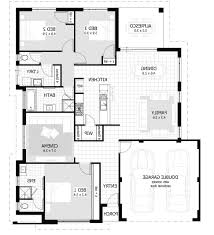 Small 3 Bedroom House Floor Plans Home Design 3 Bedroom House Floor Plan Fsbo Lawrence With Small
