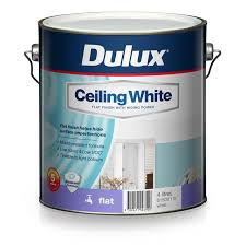 ceiling white paintDulux 4L Ceiling White Paint  Bunnings Warehouse