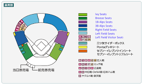 Lsu Stadium Seating Chart Visitor Section Choosing Seats For A Game At Koshien A Fans Guide H Ten