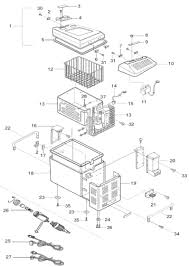 Ignition electrical laurelhurst distributors parts breakdown norcold mrft40