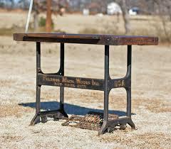 industrial antique furniture. Antique Industrial Desk - Furniture I