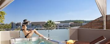 Outdoor Jacuzzi Superior Suite With Private Outdoor Jacuzzi The Lesante Luxury Hotel