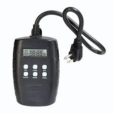 digital outdoor timer with grounded s previous in basic lighting
