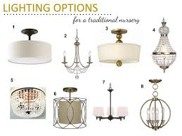 traditional nursery lighting options81 nursery