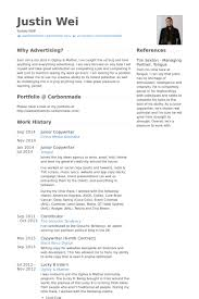 Copywriter Resume Template Copywriter Resume Samples Visualcv Resume