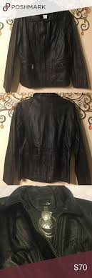 nwt east 5th genuine leather jacket brand new genuine leather jacket perfect for someone on your gift list measures length 24 x 20 across front