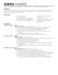 36 Restaurant General Manager Resume Free Resume