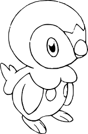 Images Of Pokemon Piplup Coloring Pages Rock Cafe