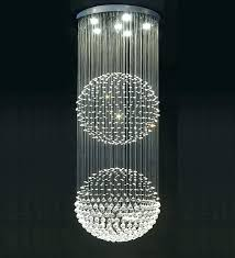 crystal sphere chandelier chandelier with crystal double floating crystal ball chandelier modern chandelier crystal crystal sphere chandelier
