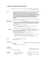 Staff Nurse Resume Format Nurses Resume Format Samples Letsdeliver Co