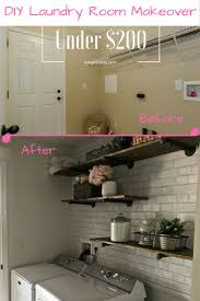 Easy Laundry Room Makeovers How To Makeover A Tiny Laundry Room Angie Away