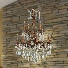 versailles 12 light french gold crystal large chandelier 24 w x 34 h two