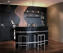 Image of: Modern Bar Design Classic Style