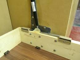 bed mechanism plans wall hardware kit