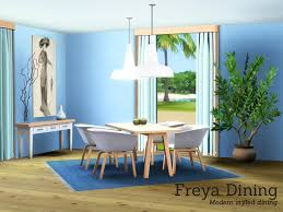 sims 3 cc furniture. Freya Diningroom, Converted To Sims 3 From My Set. Found In TSR Category \u0027Sims Dining Room Sets\u0027 Cc Furniture