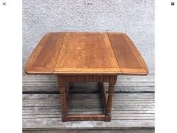 beautiful 1930s vintage old charm ercol drop leaf square coffee table