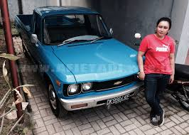Chevrolet LUV Truck Pick Up Long 1978 Indonesia - YouTube