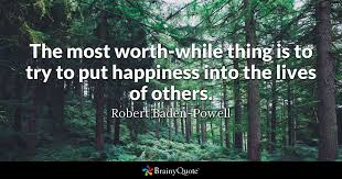 Forest Quotes Gorgeous Robert BadenPowell Quotes BrainyQuote