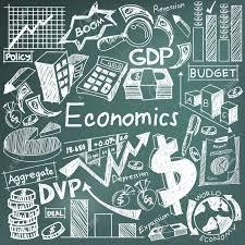 Blackboard Chart Price Economics And Financial Education Chalk Handwriting Doodle Icon