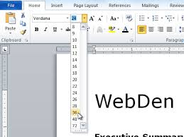 how to change text size word 2010 formatting text page 2