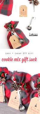 diy office gifts. Cookie Mix Gift Sack. Easy Diy Christmas GiftsOffice Office Gifts O