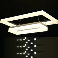 square led chandelier modern rectangle led chandelier acrylic pendant lamp re home decorative led chandeliers lighting