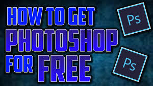 photoshop thumbnail how to get photoshop for free and thumbnail tut youtube